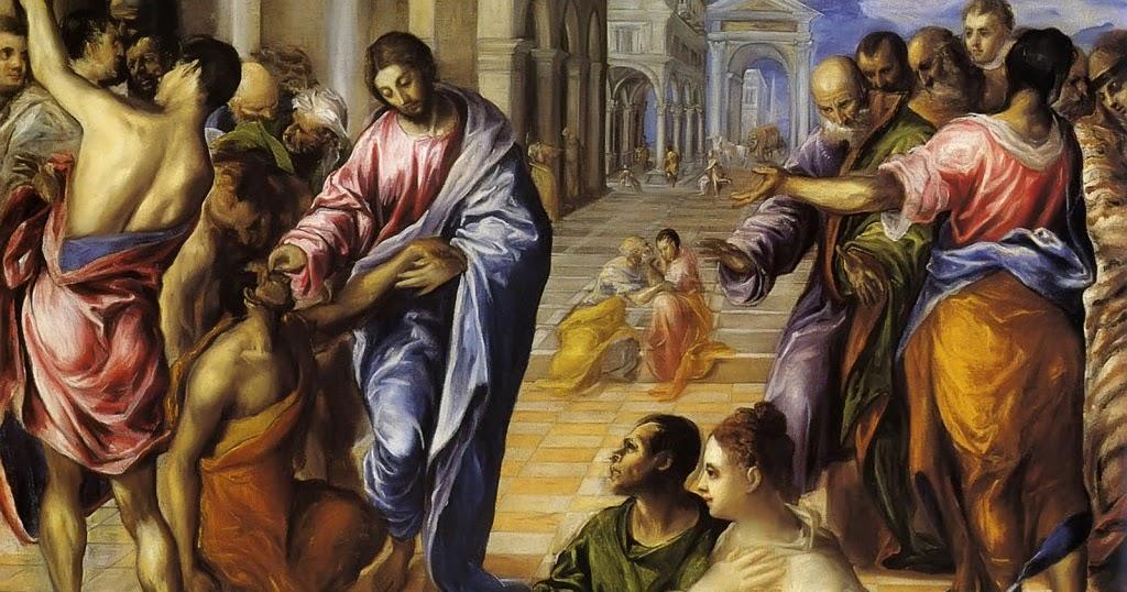 jesus expulsando demonio